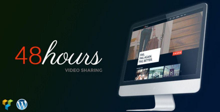 48Hours | Video Sharing Responsive WordPress Theme