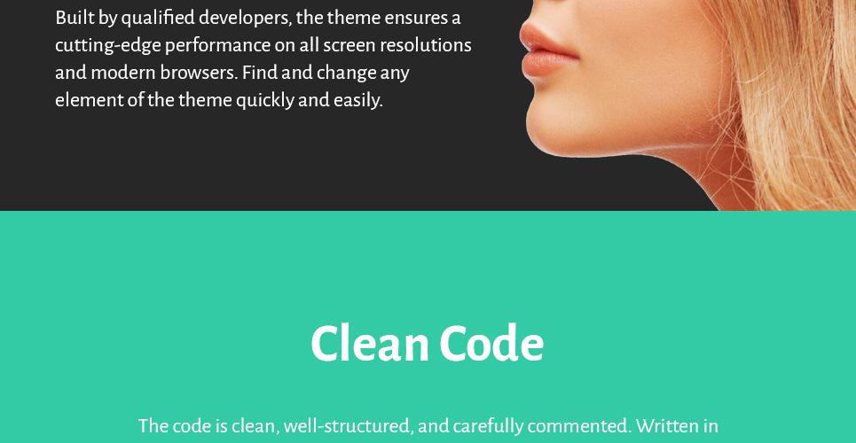 Pristine WordPress Theme