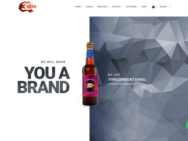CREATIVE AGENCY Business Wordpress Theme