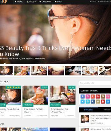 No 1 Magazine WordPress Theme