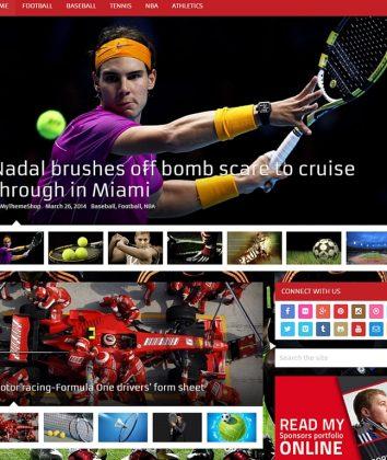 Top Magazine WordPress Theme 2016