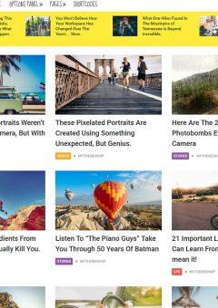 NewsPaper WordPress Theme Travel Style