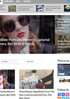 2016 Best Magazine WordPress Theme