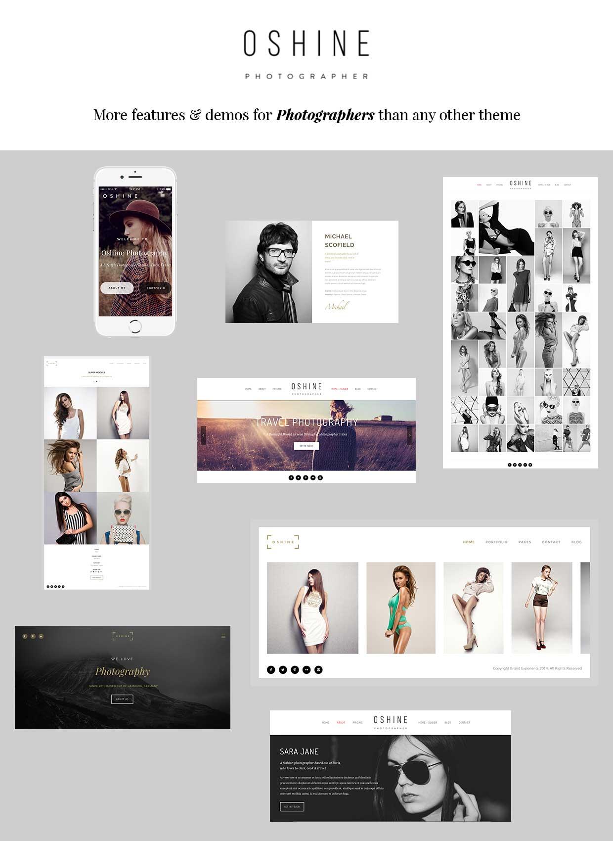 Oshine WordPress Theme