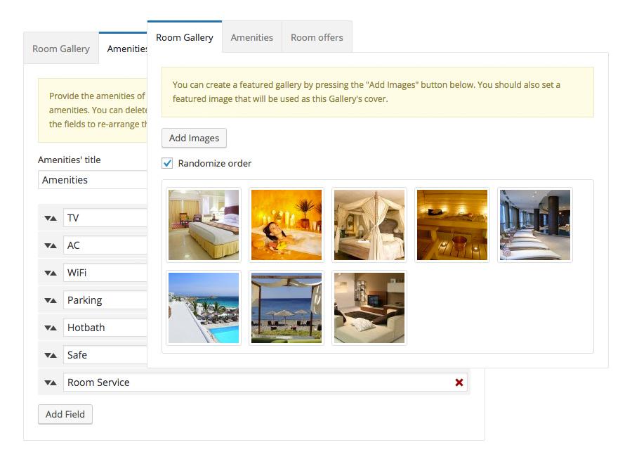 Santorini Resort WordPress Theme